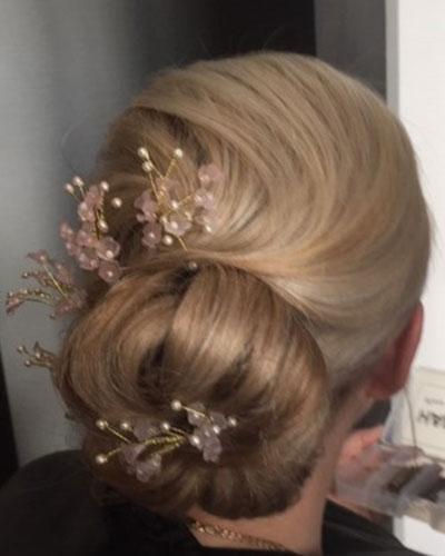 glasgow wedding hair